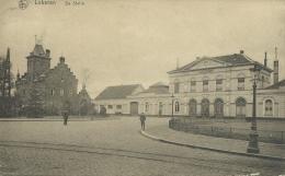 Lokeren - De Statie -1926 ( Verso Zien ) - Lokeren