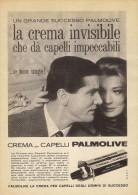 # PALMOLIVE HAIR CREAM, ITALY 1950s Advert Pubblicità Publicitè Reklame Crema Capelli Fijador Creme Cheveux Creme Haar - Perfume & Beauty