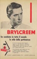 # BRYLCREEM HAIR CREAM, COUNTY LONDON 1950s Advert Pubblicità Publicitè Reklame Crema Capelli Fijador Creme Cheveux Haar - Unclassified