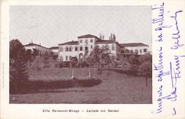 Cartolina LENTATE SUL SEVESO (provincia Di Monza E Brianza Ex Milano) - Villa Raimondi Birago - Monza