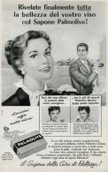 # PALMOLIVE SOAP, ITALY 1950s Advert Pubblicità Publicitè Reklame Sapone Savon Jabon Seife Beautè - Unclassified