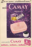 # CAMAY SOAP PROCTER & GAMBLE, ITALY 1950s Advert Pubblicità Publicitè Reklame Sapone Savon Jabon Seife - Unclassified
