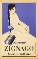 # SAPONE ZIGNAGO, ITALY 1950s Advert Pubblicità Publicitè Reklame Soap Savon Jabon Seife Beautè - Non Classificati