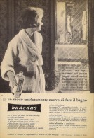 # BADEDAS SCHIUMA BAGNO, ITALY 1950s Advert Pubblicità Publicitè Reklame Bath Foam Mousse Bain Espuma Badeschaum Beautè - Unclassified