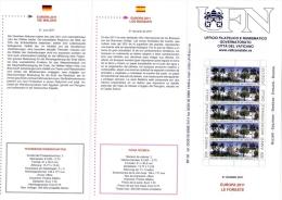 VATICANO – VATICAN CITY - VATICAN - 2011 EUROPA 2011 LE FORESTE - Vaticano