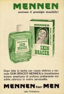 # MENNEN SHAVE LOTION,  ITALY 1950s Advert Pubblicità Publicitè Reklame Lozione Barba Rasage Afeitar Rasierwasser - Perfume & Beauty