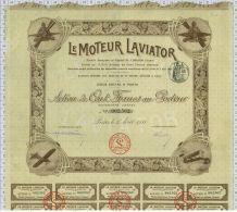 Le Moteur Laviator, Déco Avions - Aviation