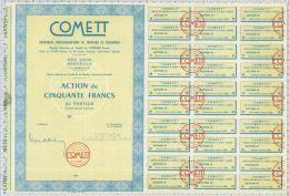 Cie Méditerraneenne De Tourisme Et Transport COMMETT à Marseille (Blanquette) - Tourisme