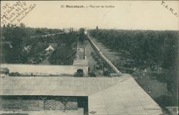 MAROC  MARRAKECH / Vue Sur Les Jardins / - Marrakech