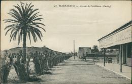 MAROC  MARRAKECH / Avenue De Casablanca (Guéliz) / - Marrakech