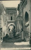 MAROC  MARRAKECH / Rue Et Portique De Sidi Ben-Slimane / - Marrakesh