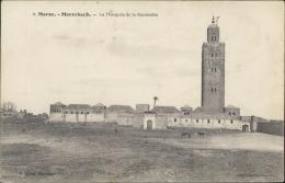 MAROC  MARRAKECH / La Mosquée De La Koutoubia / - Marrakech