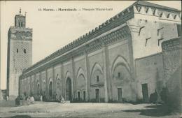 MAROC  MARRAKECH / La Mosquée Moulaï-Iazid / - Marrakech