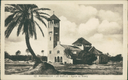 MAROC  MARRAKECH / Le Guéliz, Eglise Du Guéliz / - Marrakech