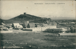 MAROC  MARRAKECH / Camp Du Guéliz, L'Intendance / - Marrakech
