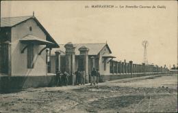MAROC  MARRAKECH / Les Nouvelles Casernes Du Guéliz / - Marrakech