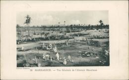 MAROC  MARRAKECH / Vue Générale De L'Abattoir Musulman / - Marrakech