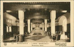 "MAROC  MARRAKECH / L'Hôtel ""Mamounia"" / - Marrakech"