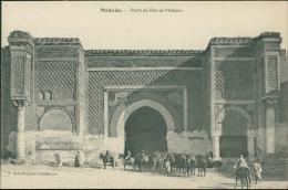 MAROC  MEKNES / Porte Du Dar-el-Makzen / - Meknès