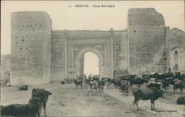 MAROC  MEKNES / Porte Bab-Djdid / - Meknès