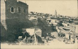 MAROC  MEKNES / Panorama, Vue Vers La Place Smen / - Meknès