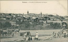 MAROC  MEKNES / Un Atelier De Fabrication De Briques / - Meknès