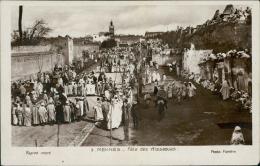 MAROC  MEKNES / Fête Des Aïssaouas / CARTE GLACEE - Meknès