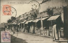 MAROC  MEKNES / La Rue Des Bijoutiers / - Meknès