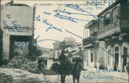 MAROC  MEKNES / Vue Centrale De La Rue Rouamzine / - Meknès