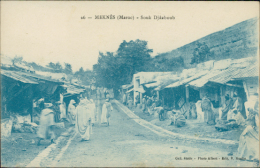 MAROC  MEKNES / Souk Djâaboub / - Meknès