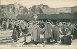 MAROC  MEKNES / Un Coin Du Marché Aux Grains / - Meknès