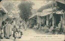 MAROC  MEKNES / Le Souk / - Meknès