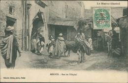 MAROC  MEKNES / Rue De L'Hôpital / - Meknès