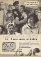 # SAPONE SELE DEODORANTE 1950s Advert Pubblicità Publicitè Reklame Deodorant Desodorante Beautè - Unclassified