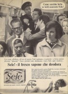 # SAPONE SELE DEODORANTE 1950s Advert Pubblicità Publicitè Reklame Deodorant Desodorante Beautè - Perfume & Beauty