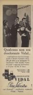 # PINO SILVESTRE VIDAL DEODORANTE 1950s Advert Pubblicità Publicitè Reklame Deodorant Desodorante Beautè - Non Classificati