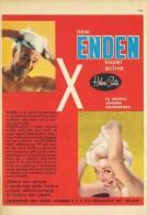 # HELENE CURTIS ENDEN SHAMPOO, ITALY 1950s Advert Pubblicità Publicitè Reklame Hair Cheveux Haar Beautè - Non Classificati