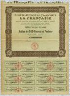 Sa De Transports La Française - Transports