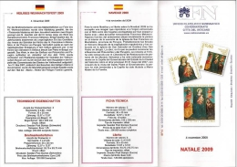 VATICANO – VATICAN CITY - VATICAN - 2009 NATALE 2009 - Vaticano