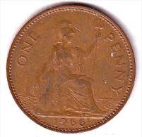 Großbritannien One Penny 1966 - 1902-1971: Postviktorianische Münzen
