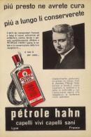 # PETROLE HAHN Perma Lyon-Paris1950s Advert Pubblicità Publicitè Reklame Lotion Cheveux Locion Haar Beautè - Parfums & Beauté
