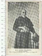 """Cartolina D´epoca, """" Mons. Corna Pellegrini"""" Vescovo Di Brescia - Cristianesimo"""