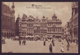BRUXELLES - Grande Place - Maison Des Corporations - Brussel - Marché  // - Marktpleinen, Pleinen