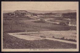 CHAVES  Postal Carreira De Tiro. Carro. Militares (Cliche De Fotografia Alves).  Old Postcard VILA REAL / PORTUGAL - Vila Real