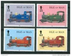 1998 Isola Di Man Treni Railways Trains Set MNH**B198 - Trains