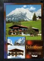 F1505 Going Am Wilden Kaiser - Hutte, Rifugio, Gasthof Hofreitbauer  _ Nice Stamp And Flamme - Kitzbühel