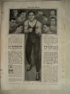 CARPENTIER Georges - Reportage Vue Par Lui-même - 1912 - Boxe