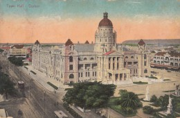 1916 DURBAN TOWN HALL - Afrique Du Sud