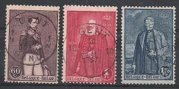 Nrs 302/304 Koningen /Oblit/gestp Centraal - Oblitérés