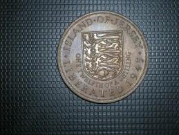 Jersey 1/12 Shilling 1945 (5292) - Jersey